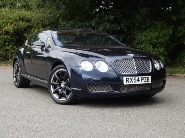 Bentley exterior of the car