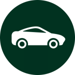 Used cars icon vector