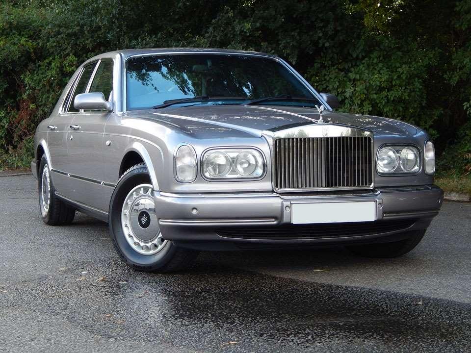 silver Rolls-Royce